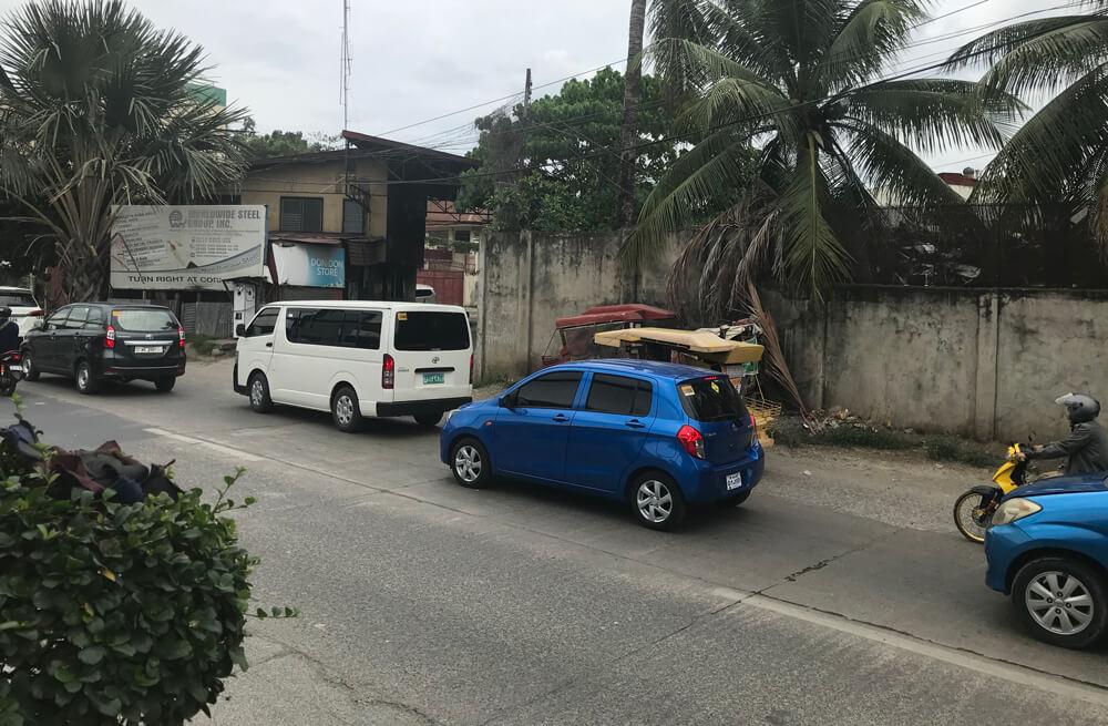 セブ島の渋滞