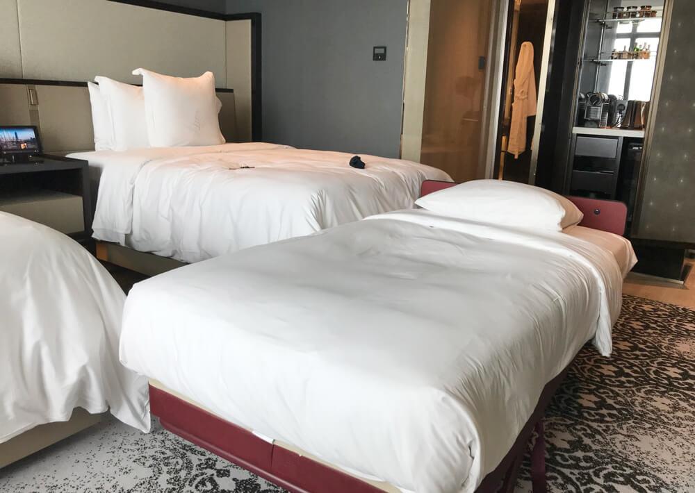 ベッド3つ