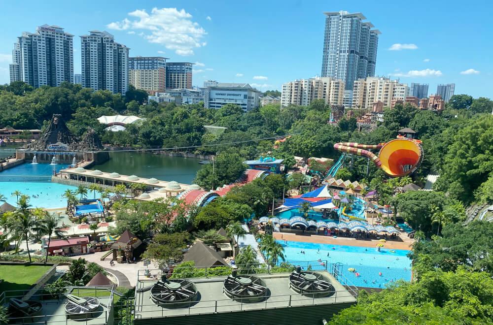 マレーシア最大級のテーマパーク「サンウェイラグーン」が凄い