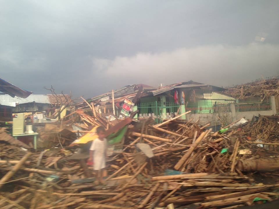 タクロバン台風