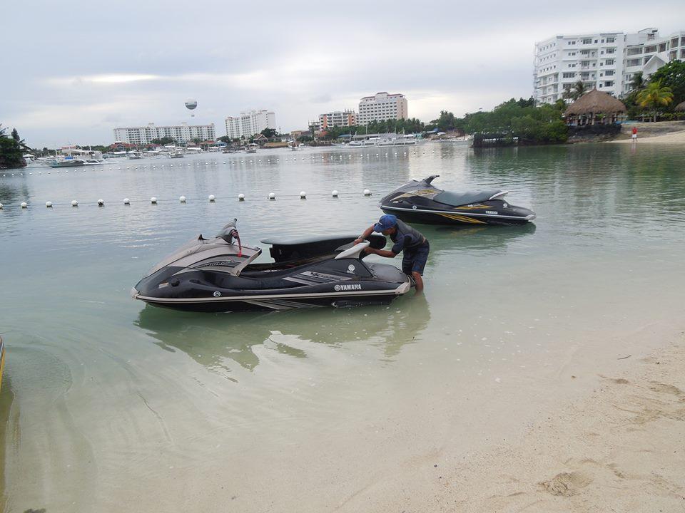 セブ 水上バイク