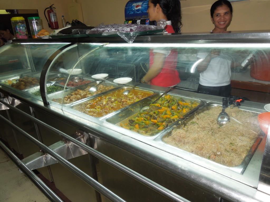 フィリピン 食堂