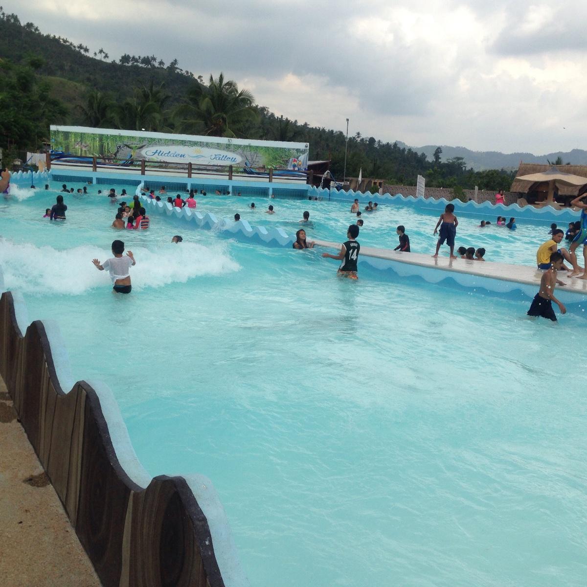 セブで波のプールが体験できる「Hidden Valley Wave pool resort」
