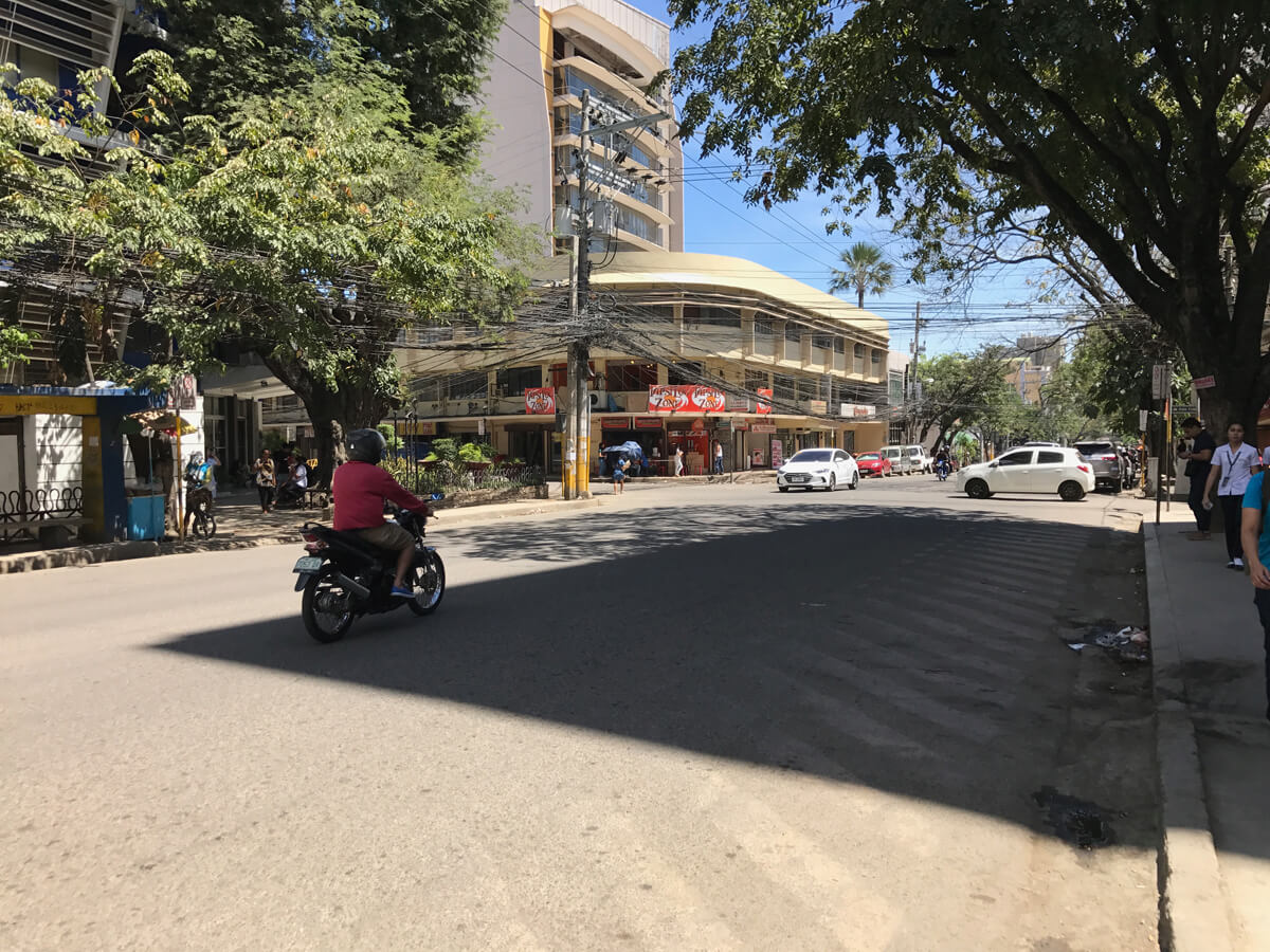 フィリピンの街並み