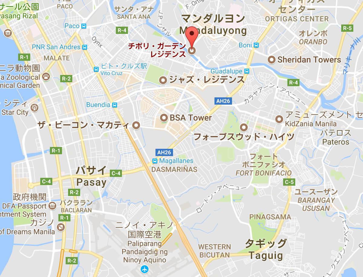 チボリ地図