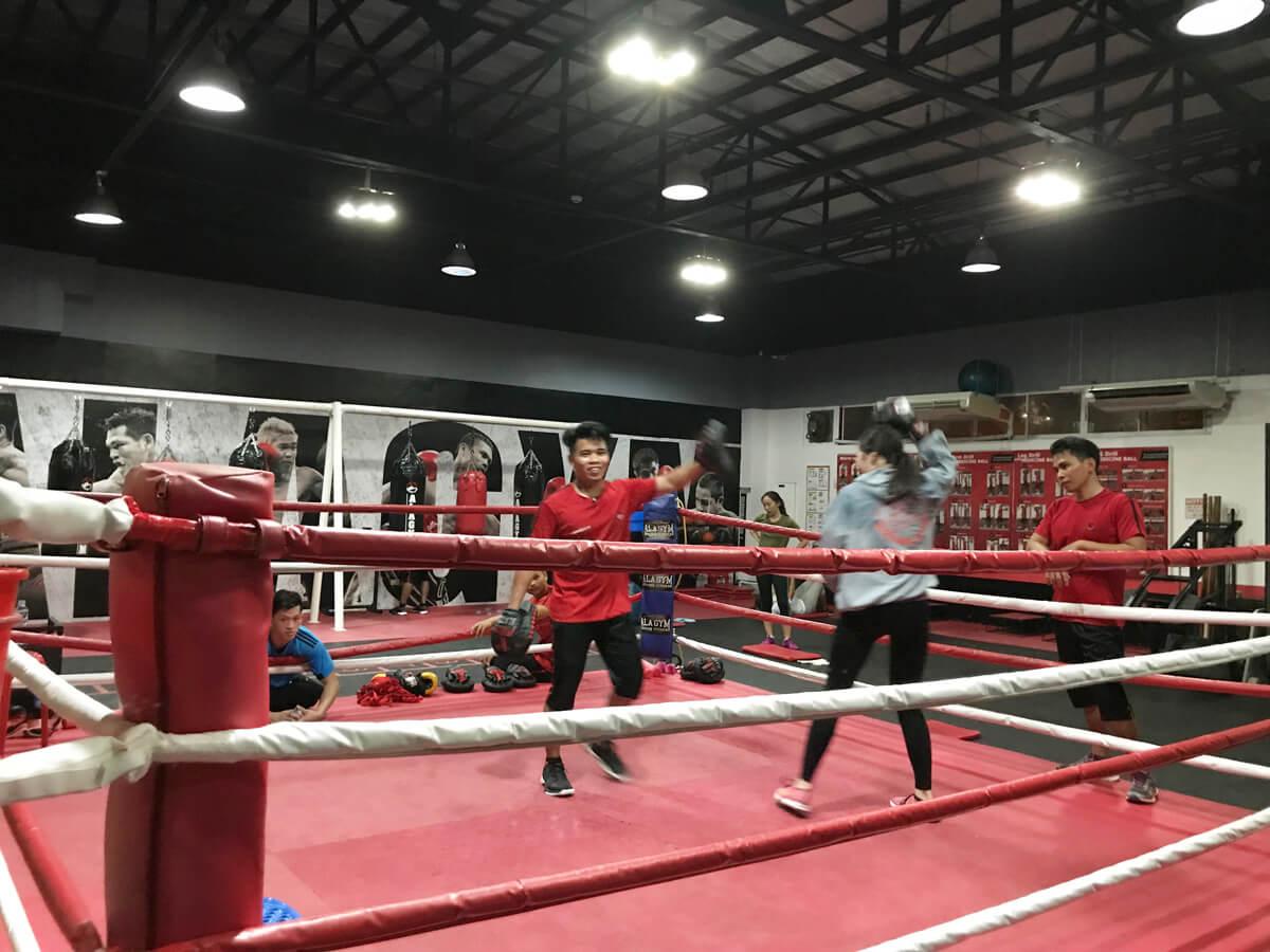 ボクシング セブ