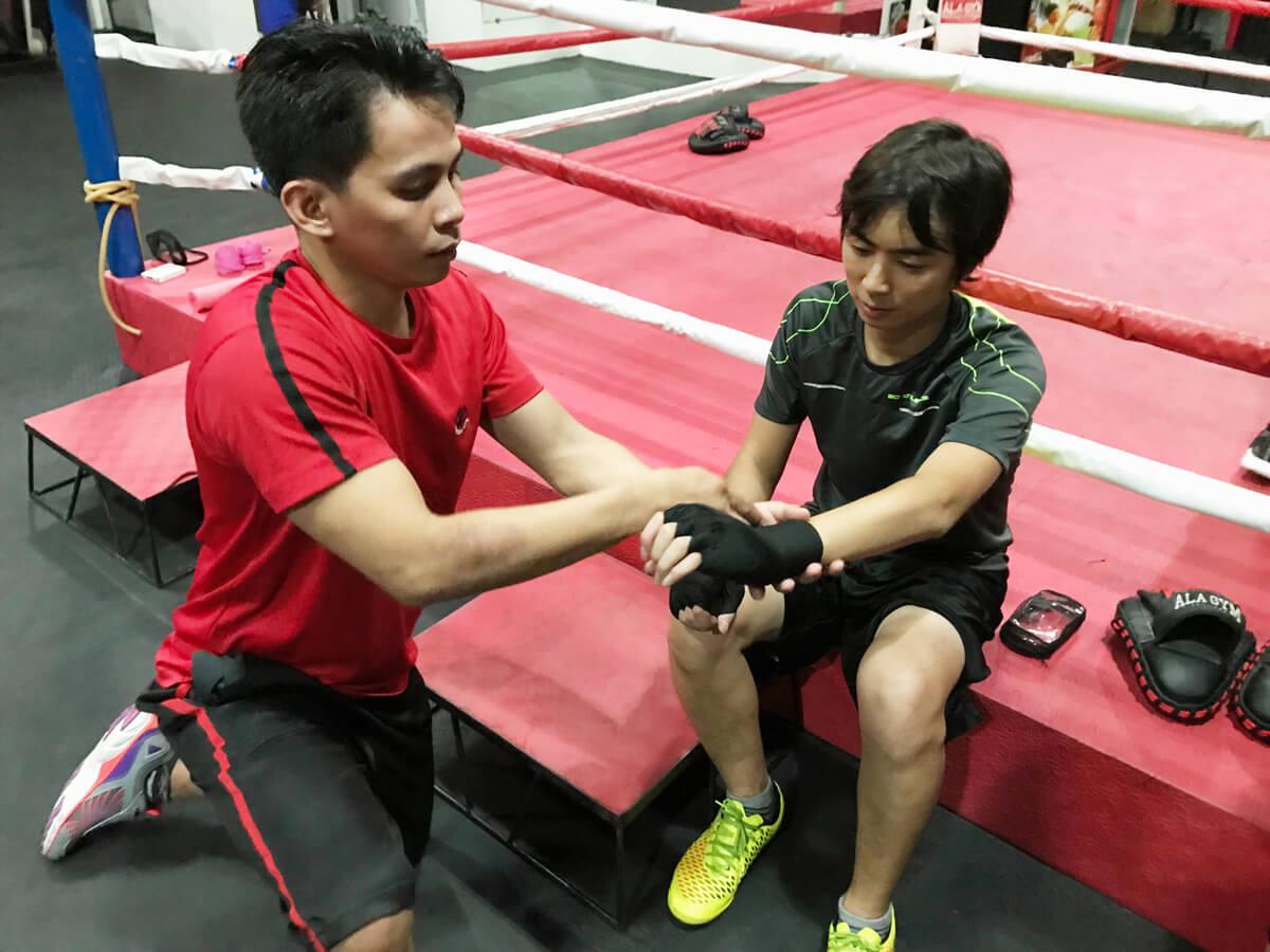 ダイエットにもおすすめ!セブでボクシングを体験しよう。