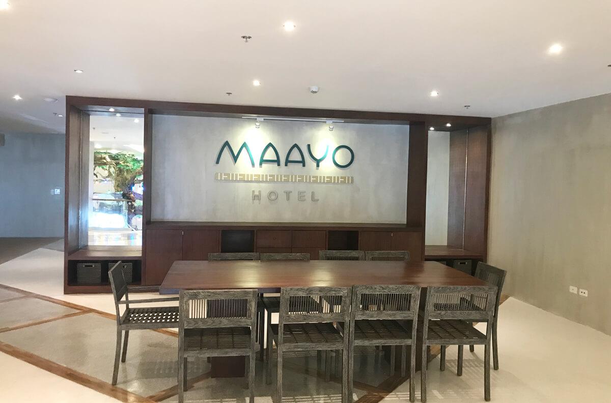 セブ島Maayo Hotel 空港からも近い中クラスビジネスホテル