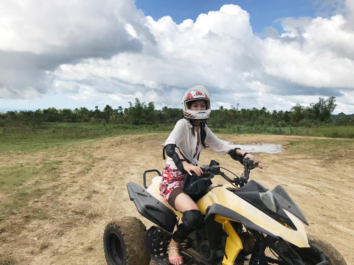 ATV体験