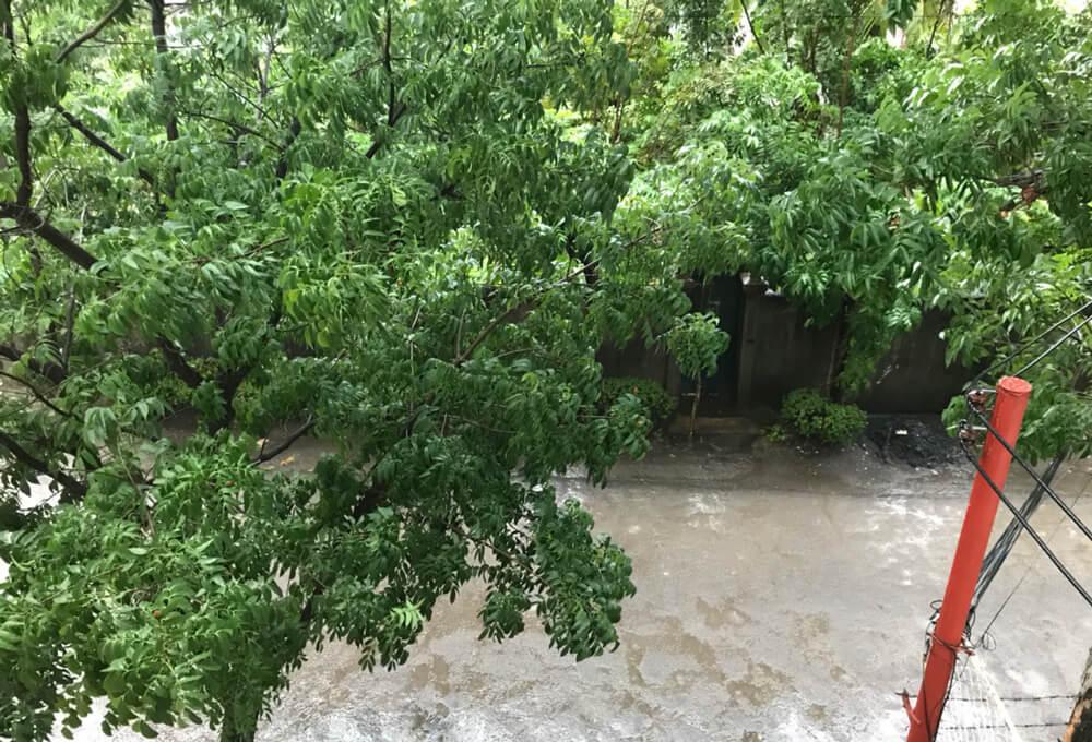 雨季フィリピン