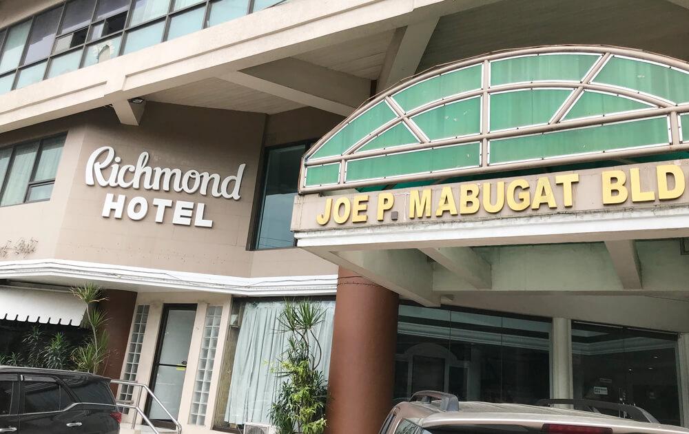 【セブ島】星2ホテル「リッチモンドプラザホテル」に泊まってきました
