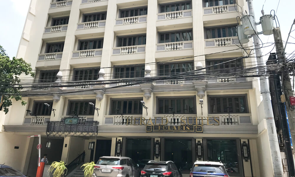 マカティでコスパ抜群のおすすめホテル「ヘラルド スイーツ ポラリス」