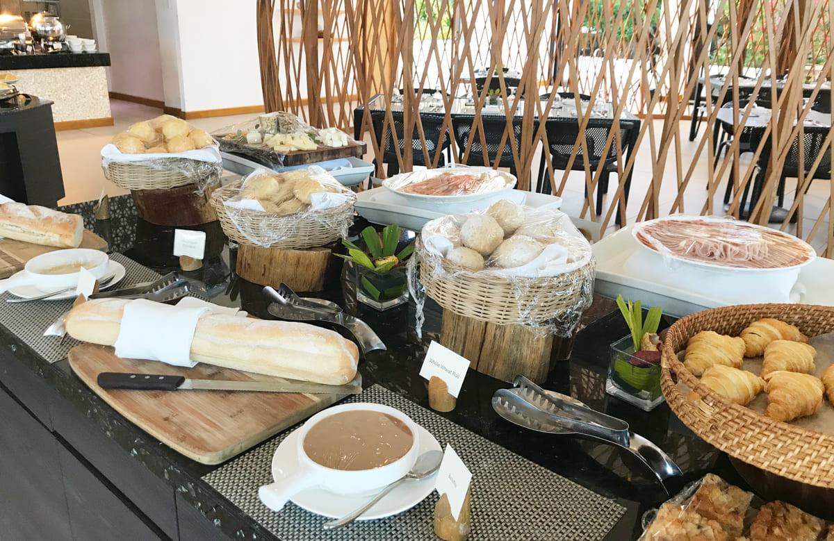 リゾートホテル朝食